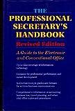 The Professional Secretary's Handbook, American Heritage Publishing Staff, 0395669790