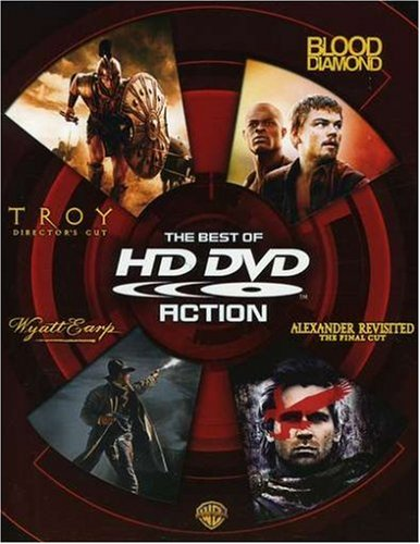 The Best of HD DVD - Action (Troy Director's Cut / Blood Diamond / Wyatt Earp / Alexander Revisited The Final Cut)