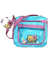 Hello Kitty Hawaii Blue and Pink Messenger Bag