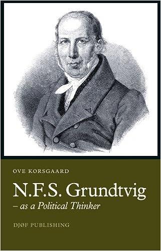 N.F.S. Grundtvig as a Political Thinker