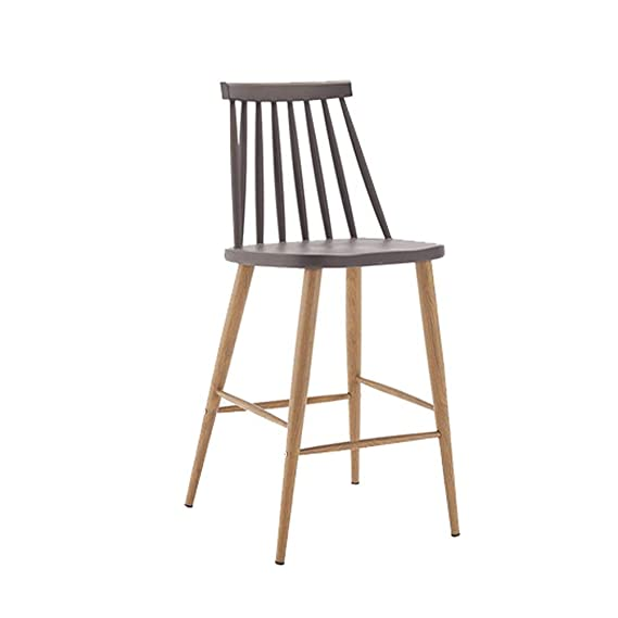 Amazon.com: CHAIRWELL Taburete De Bar Eólico Industrial, Silla Alta ...