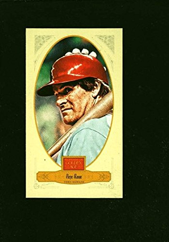 Dark Brown Broadleaf - PETE ROSE CINCINNATI REDS MINI SP 2012 PANINI GOLDEN AGE BROADLEAF BROWN INK 118