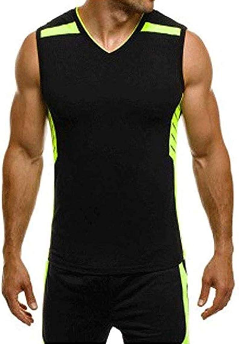 Men Sleeveless Vest Tank Top Workout Muscle Basketball Sport Gym T-Shirt Vest