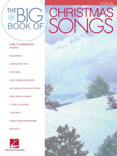 Big Book of Christmas Songs for (Score Christmas Song)