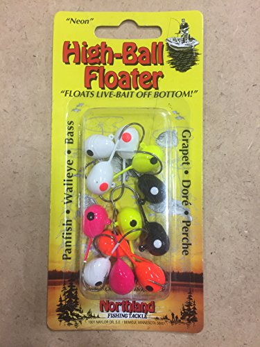 - Northland Tackle FJ1-12-99 High-Ball Floater #1 1 Bait, Assorted