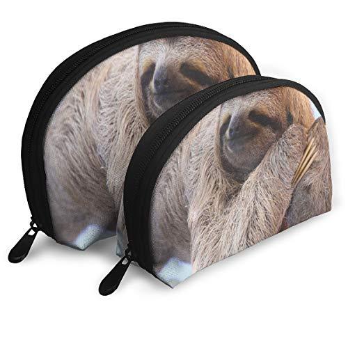 Makeup Bag Sloth Sleeping Dream Portable Shell Storage Bag For Girls Halloween Gift Pack - 2 -