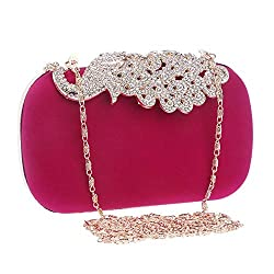 Women's Rhinestone Night Banquet Clutch