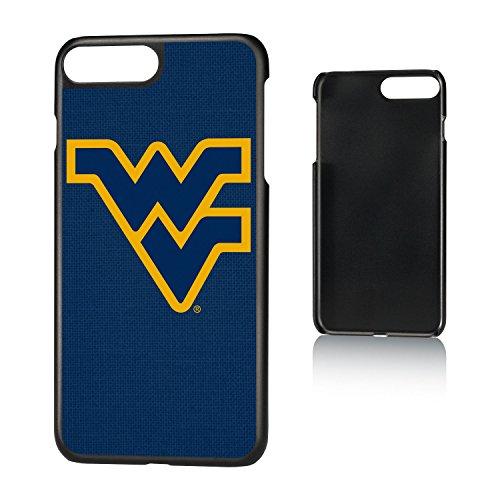 Keyscaper KSLM7X-00WV-SOLID1 West Virginia Mountaineers iPhone 8 Plus / 7 Plus / 6 Plus Slim Case with WVU Solid Design ()
