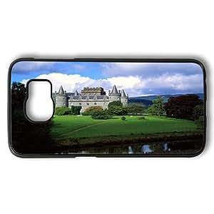 Samsung Galaxy S6 Case, Inveraray Castle Scotland Rugged Case Cover Protector for Samsung Galaxy S6 PC Plastic Black