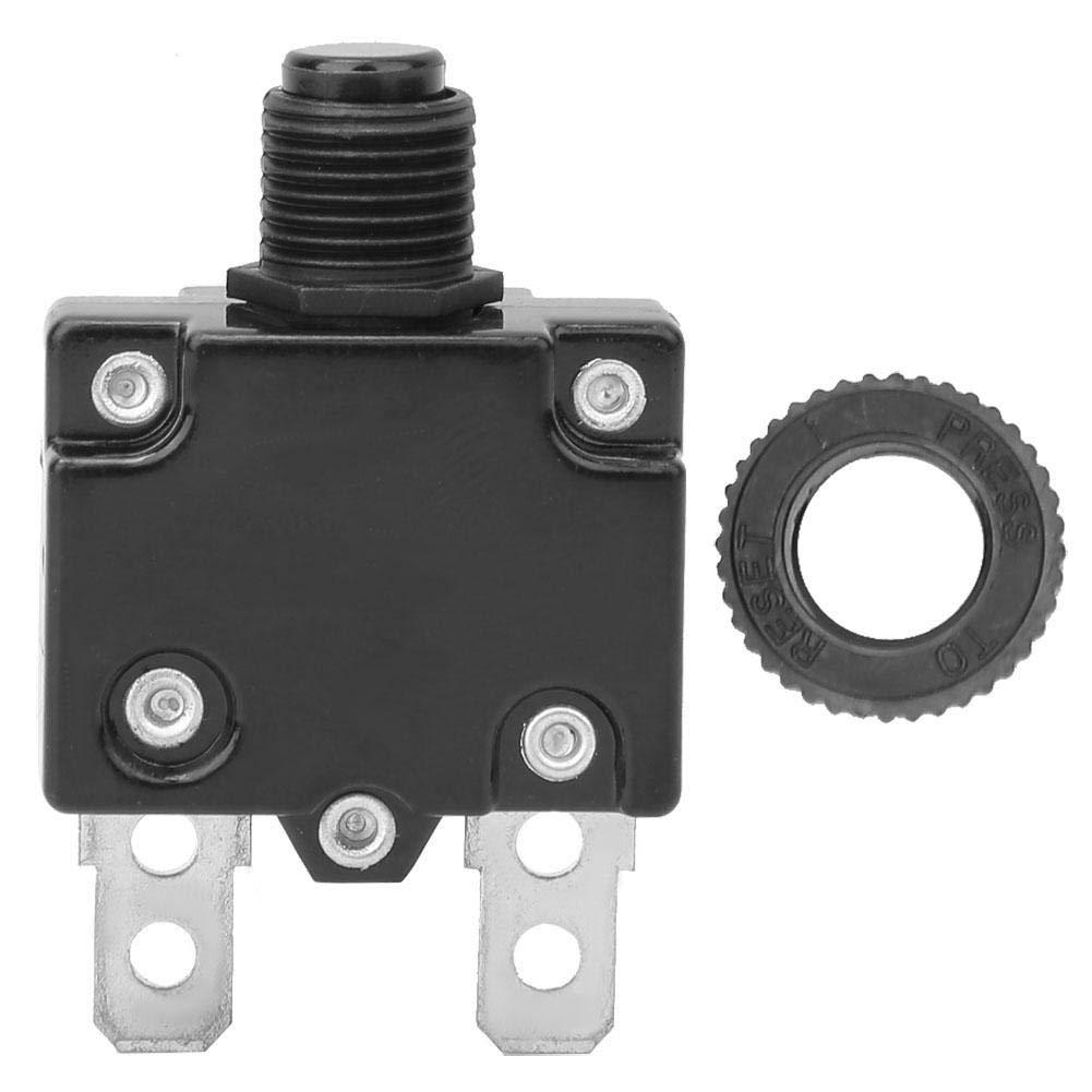 6A 5pcs interrupteur de protection disjoncteur compresseur dair disjoncteur thermique Protecteur de surcharge Protection contre les surintensit/és pour g/én/érateur