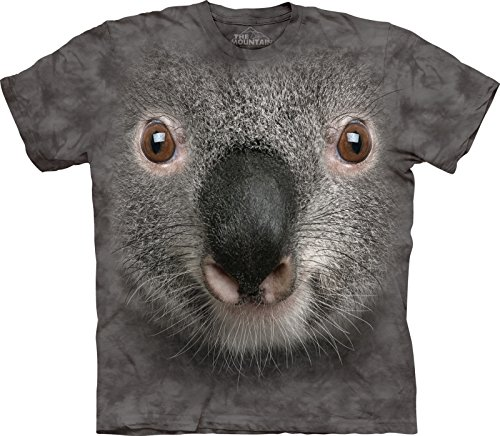 The Mountain Gray Koala Face T-Shirt