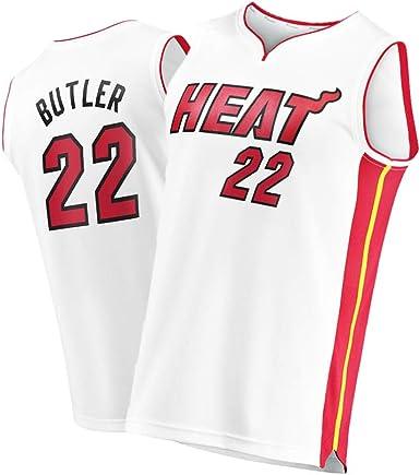 WWWJ Miami Heat Jimmy Butler Rojo 2019/2020 Swingman Jersey ...