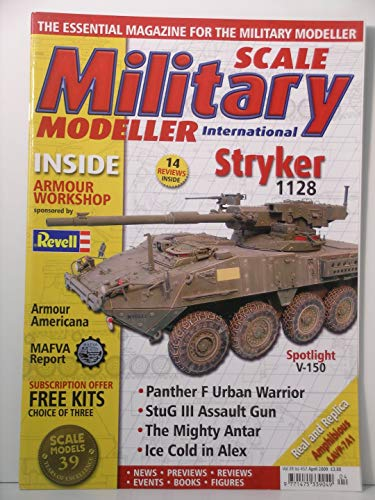 Scale Military Modeller International Magazine Vol. 39 Issue #457 April 2009. ()