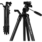 Camera Tripod Fotopro iPhone Tripod up to 48 Max Load 4.4 lbs,with Phone Tripod Mount,Wireless Bluetooth Remote,GoPro Adapter,Quick Release Plate, for DSLR Canon Sony Nikon Lumix Samsung S9 iPhone X