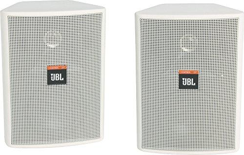 """JBL Control 23T 2-Way 3-1/2"""" Indoor/Outdoor Speaker Pair Whi"""