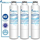 FilterLogic DA29-00020B Refrigerator Water Filter Replacement for Samsung DA29-00020B, DA29-00020A, HAF-CIN/EXP, 46-9101 (Pack of 3)