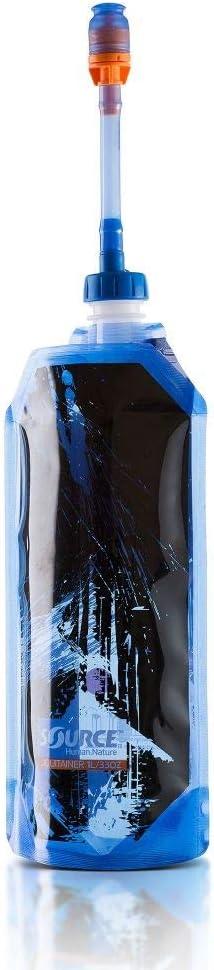 1 litre Source Unisex/_Adult Liquitainer Pro Hydration Bladder Blue
