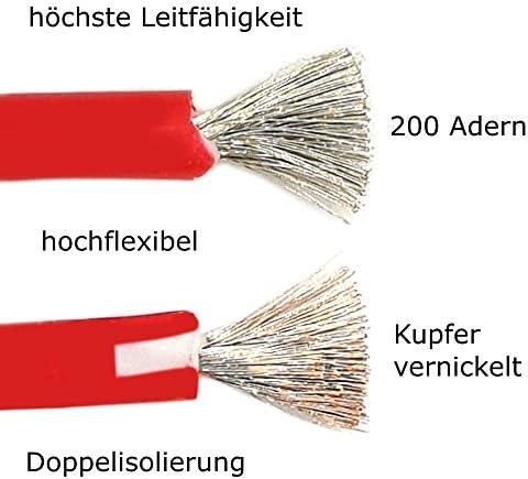 Holdpeak Hp 9106 1 Paar Hochflexible Multimeter Messleitungen 100cm Rot Schwarz Messkabel Laborkabel Baumarkt