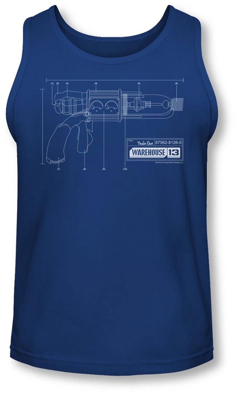 Warehouse 13 - Mens Tesla Gun Tank-Top