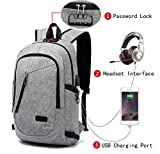 Best Portable & Gadgets Laptop Backpacks - FLYMEI Laptop Backpack with USB Charging Port Review
