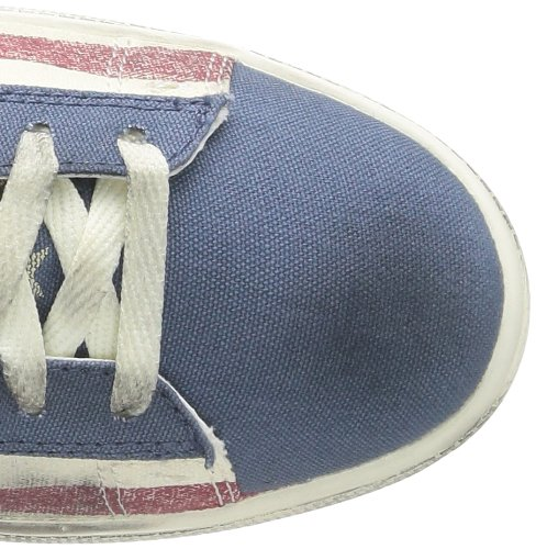 Distressed Converse Canvas Sneaker Stars LP Pro unisex adulto MID Leather amp;bars r7nvXrqI