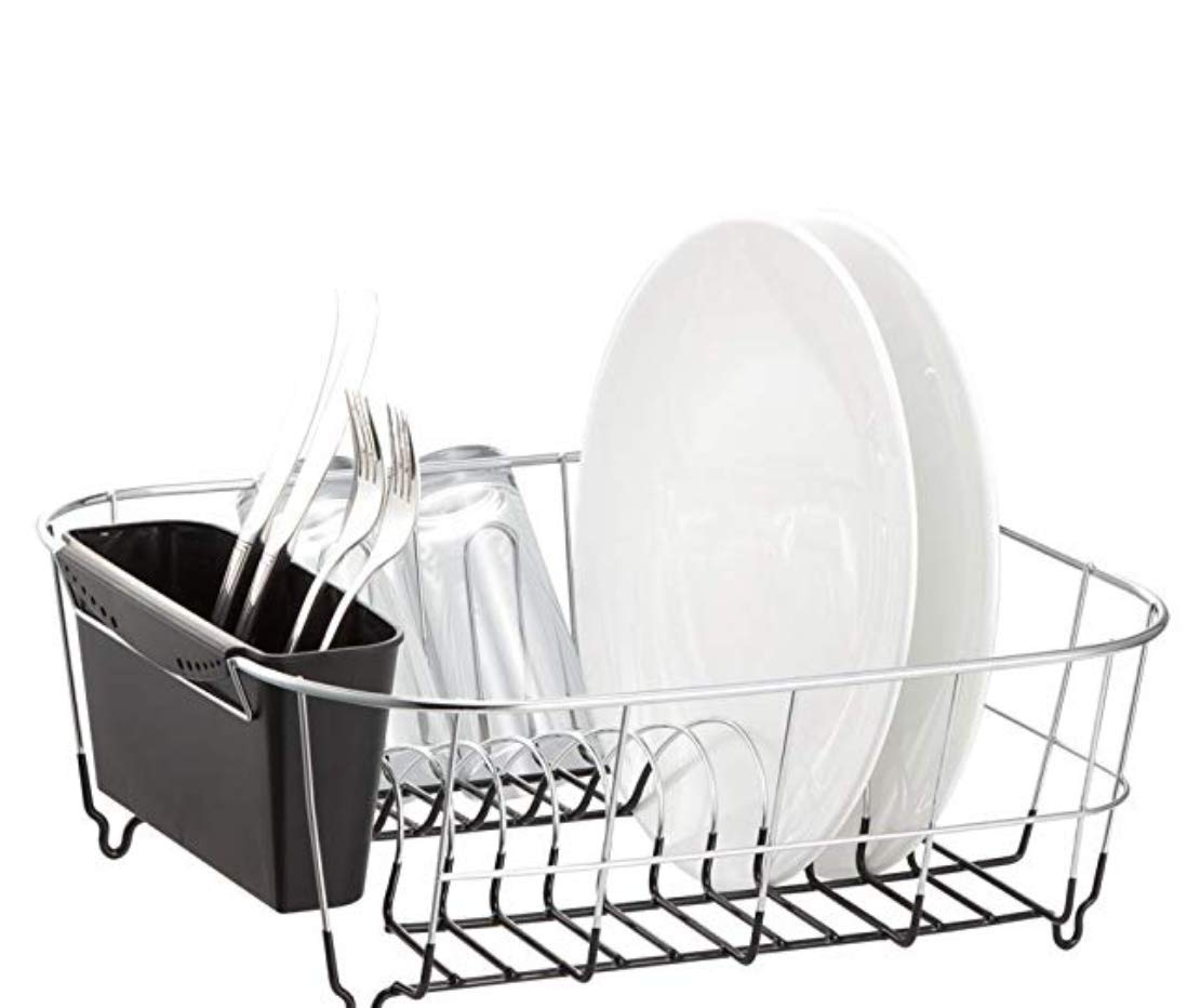 Neat-O Deluxe Chrome-plated Steel Small Dish Drainers (Black) by Neat-O
