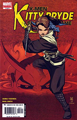 X-Men: Kitty Pryde-Shadow & Flame #3 VF ; Marvel comic book
