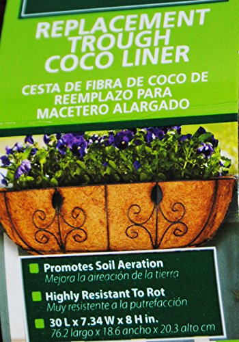 Bert's Garden 30'' Trough Coco Replacement Liner by Bert's Garden