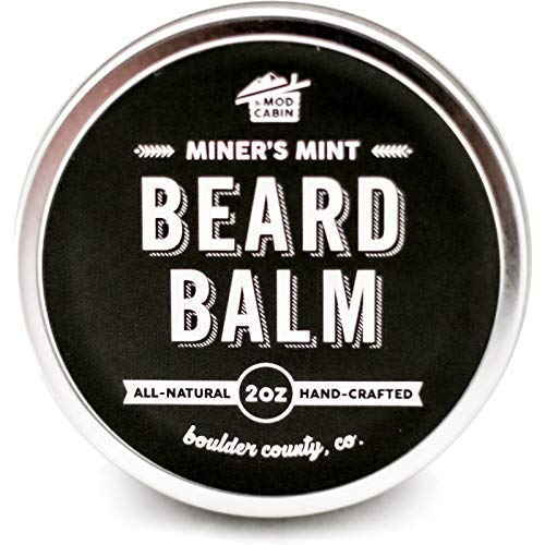 Miner's Mint Beard Balm - All Natural, Hand Crafted in USA