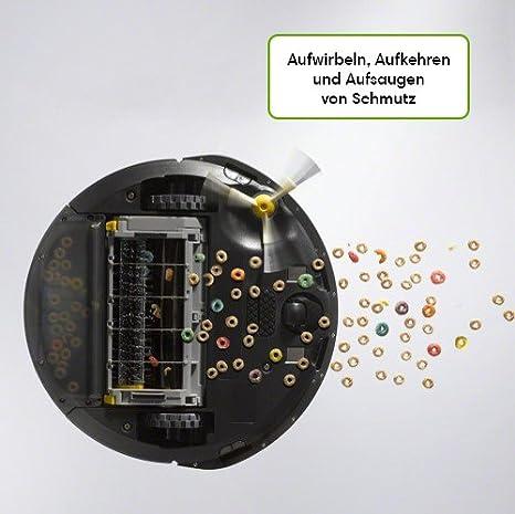 iRobot ROOMBA 696 Robot Aspirador Inteligente con Control Remoto Y PROGRAMACIÓN A TRAVÉS DE App, 0 W, 0 Decibelios, Negro: 281.93: Amazon.es: Hogar