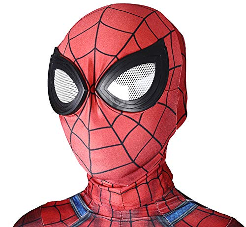 XZPS Spider Superhero Ps4 Game Cosplay Costumes Adult/Kids 3D Style Lycra Spandex Head Body Separation Zentai Suit