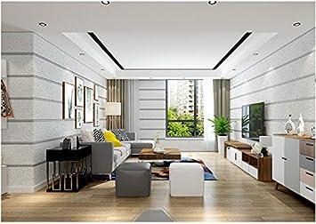 Yosot Moderne 3D-Marmor Streifen Vliestapeten Wohnzimmer ...