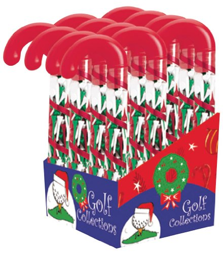 - Golf Gifts & Gallery Candy Cane Tee Holder