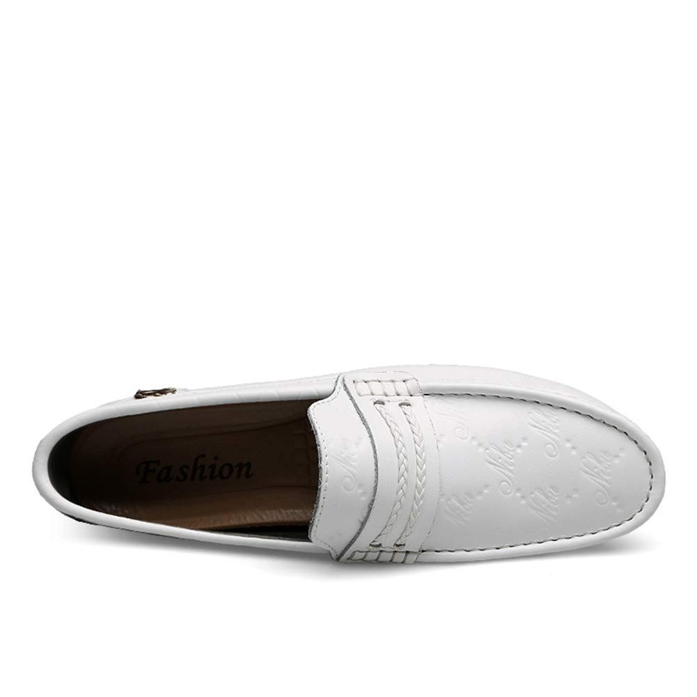 Herrenschuhe Frühsommer Bright Leder Schuhe Men Peas Schuhe Wild Fashion Big Größe Man Casual Driving schuhe,b,49