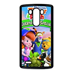 LG G3 Cell Phone Case Black Tigger & Pooh and a Musical Too 005 KYS1096122KSL