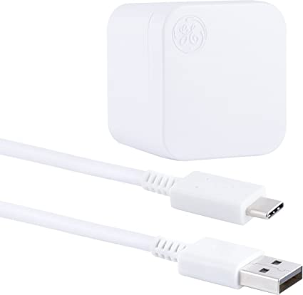 Amazon.com: GE Pro Kit de Cargador de pared, USB-A a – C, 2 ...