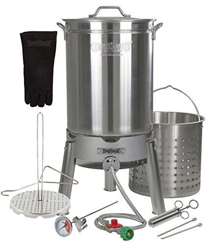 Turkey Deep Fryer Oversized 44 Quart Stainless Steel