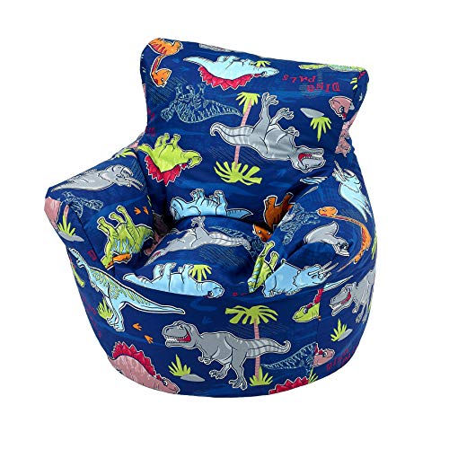 Childrens Bean Bag Chair 100 Cotton 7 Designs Childrens Bean Bag Chair Small 55x55x57cm For 4 7 Years Dinosaur Buy Online In French Polynesia At Frenchpolynesia Desertcart Com Productid 92405865