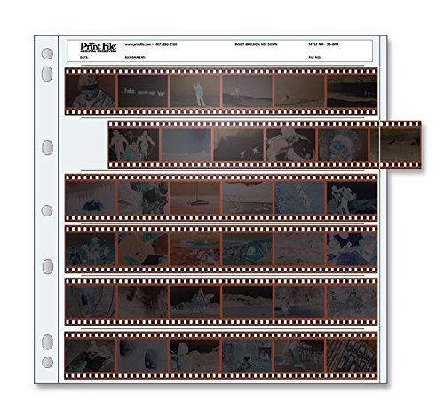 Printfile 6 35mm Strips Total 36 Frames 100 Pack - Printfile 356HB100 by Print File