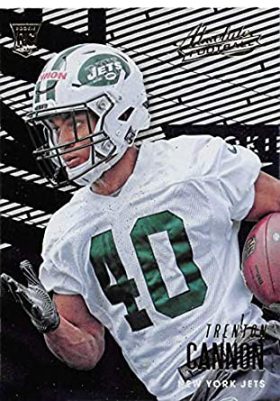 2018 Absolute Football  123 Trenton Cannon Rookie RC Rookie New York Jets  Official NFL Trading af21932e9