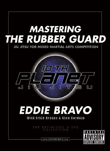 NEW EDDIE BRAVO MASTERING THE RUBBER GUARD DVD mma jiu jitsu ufc