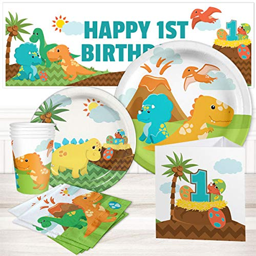 (Little Dinosaur 1st Birthday Party Package 16)