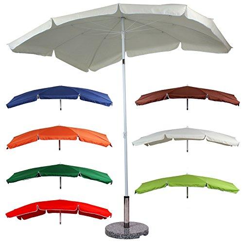 Sonnenschirm Sonnenschutz Gartenschirm 2,00 m x 1,55 m in 7 verschiedenen Farben