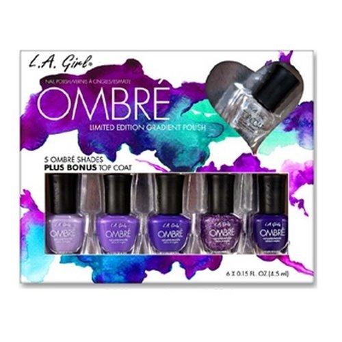 LA GIRL Ombre Limited Edition Gradient Polish Set - Love Affair - Love Affair - Ombre Nail Polish