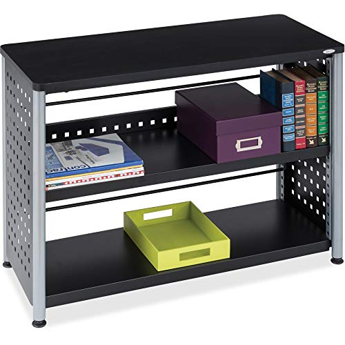 Safco Products Scoot 2-Shelf Bookcase, Black