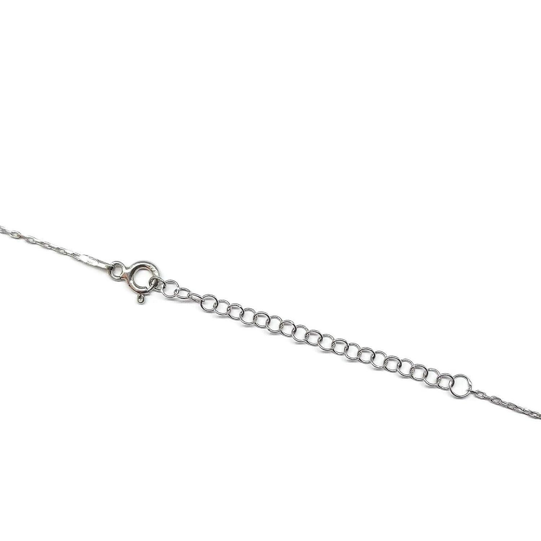 - Cadena 40 a 45 cm Longitud Mystic Jewels By Dalia para Regalar por protecci/ón para Mal de Ojo Plata de Ley 925 Collar Mal de Ojo de Cristal Azul para la Buena Suerte