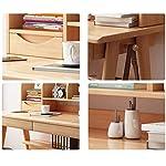 A Simple Combination of Solid Wood Desk Bookshelf Home Computer Desk Table Student Desk Writing Desk, Health…