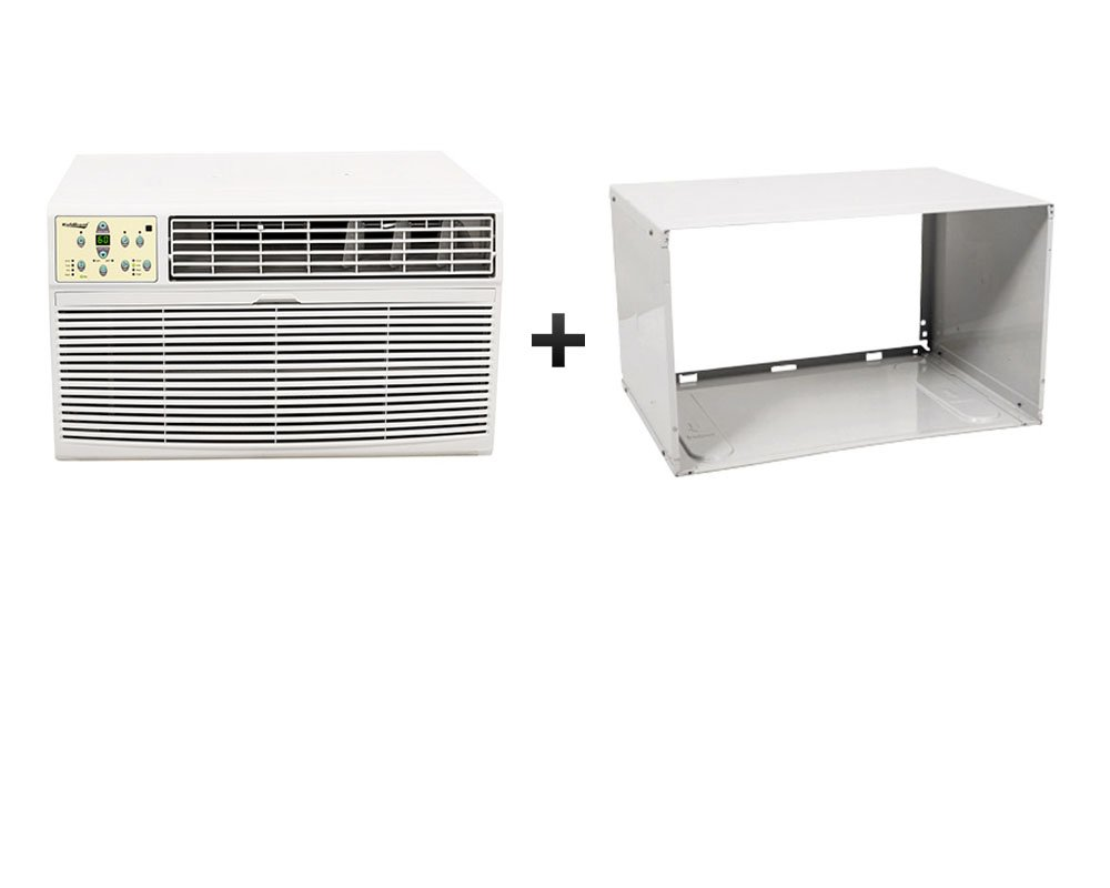 Koldfront 12 000 btu through the wall heat cool air for 12 000 btu window air conditioner with heat