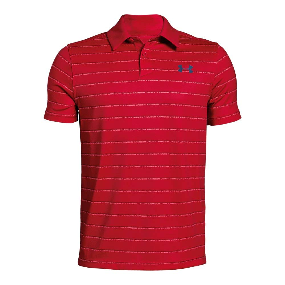 Under Armour UA Tour Tips Stripe Youth X-Large Lava by Under Armour