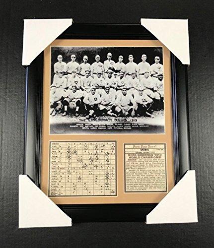 11x14 Framed & Matted 1919 Cincinnati Reds World Series Champions Team 8X10 PHOTO